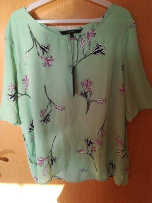 Hemdbluse mit kurzen Ärmeln