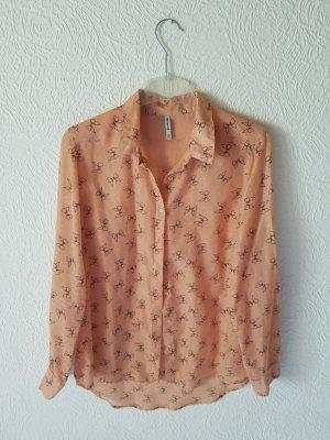 Hemdbluse mit süßem Muster