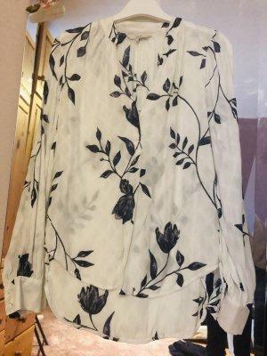 Next Blusa de manga larga blanco-azul