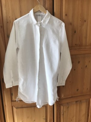 Edc Esprit Robe chemisier blanc coton