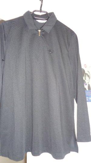 Hemdbluse schwarz gr.40