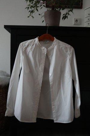 Boden Blusa-camisa blanco Algodón