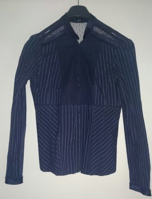 Hemdbluse von Hallhuber  - Blau