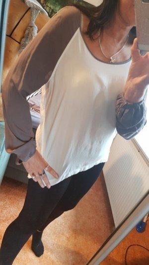 Hemdbluse von Hilfiger Denim Gr M Schlupfbluse Bluse Viscose