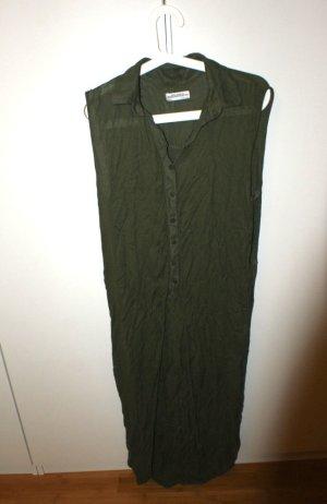 Hemdbluse von Zara, hinten lang, vorne zum Knoten