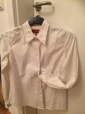 Hemdbluse Weiß - ein Basic-Muss :-)