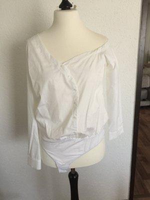 Zara Camicetta body bianco