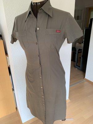Street One Shirtwaist dress khaki cotton