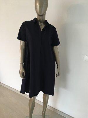 COS Shirtwaist dress dark blue cotton