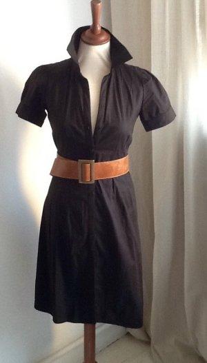 H&M Shirtwaist dress black