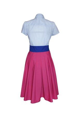 Hemdblusenkleid, 50er Stil, tailliert, Blusenkleid