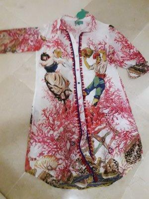 Hemdblusenkleid, Baumwolle, beachwear
