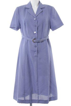 Shirtwaist dress lilac-purple elegant