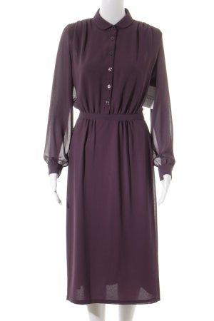 Hemdblusenkleid flieder Vintage-Look