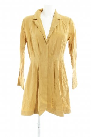 Hemdblusenkleid goldorange Boho-Look