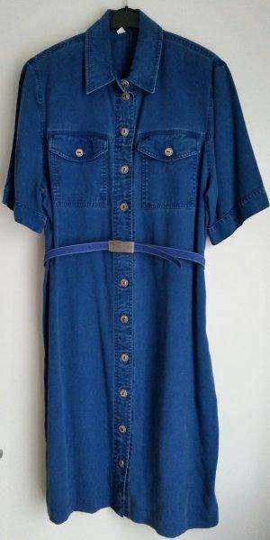 Hemdblusenkleid in Jeansoptik von Carina