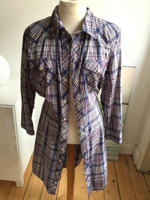 Hemdblusenkleid Kleid von Tommy Hilfiger, blau, Gr L