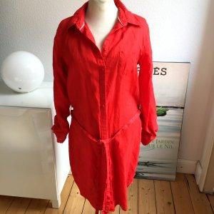 Hemdblusenkleid Kleid von Tommy Hilfiger, rot, Gr 38