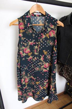 Hemdblusenkleid mit Blumenmuster Asos