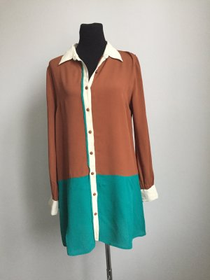 Hemdblusenkleid oder auch Long-Tunika in modernem Retro-Look