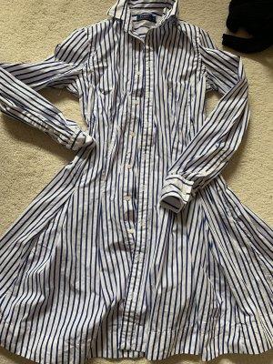 Ralph Lauren Abito blusa camicia bianco-blu