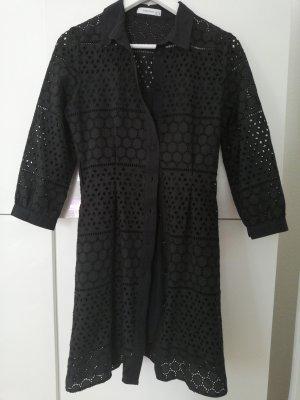 Hemdblusenkleid Reserved Größe S/36 Spitze schwarz