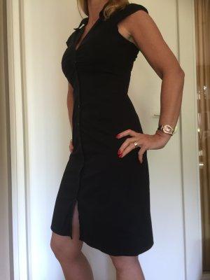 Hemdblusenkleid schwarz von H&M