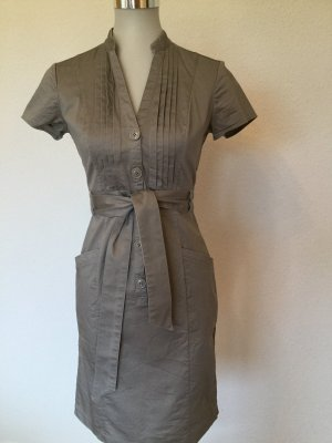 H&M Robe chemise taupe