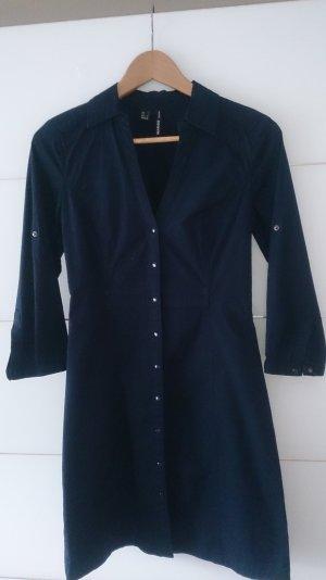 Mango Shirtwaist dress dark blue
