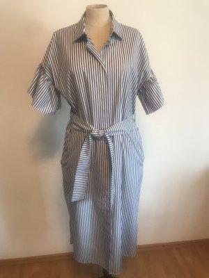 Weekend Max Mara Shirtwaist dress white-blue