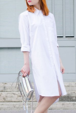 Urban Outfitters Shirtwaist dress white