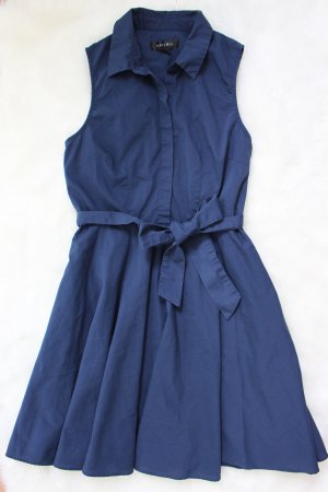 Amisu Shirtwaist dress dark blue