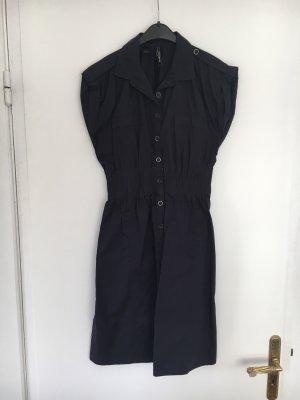 Mango Shirtwaist dress dark blue-blue