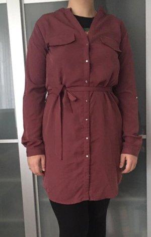 Shirtwaist dress purple