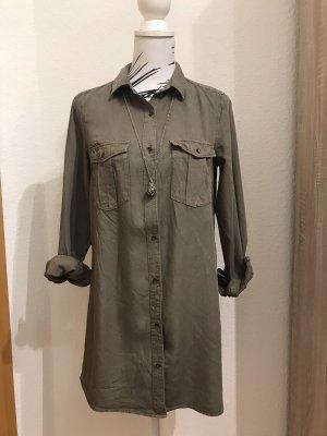 H&M Divided Robe chemise kaki