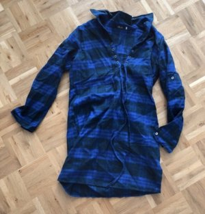 Shirtwaist dress black-dark blue