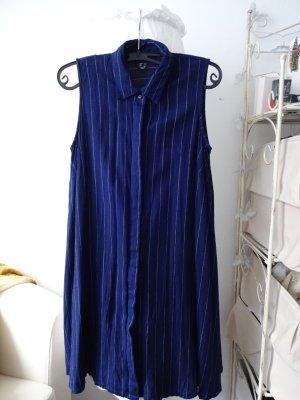 Hemdkleid gestreift marineblau