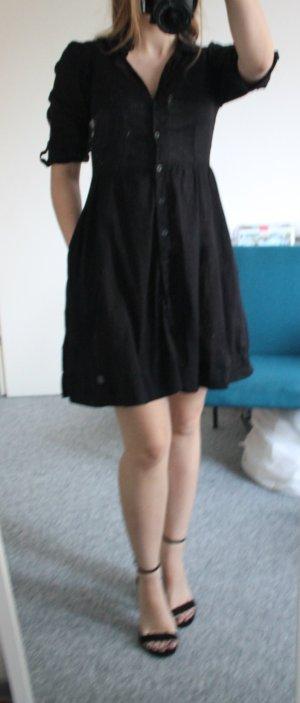 Hemdkleid in A-Linie und Taschen