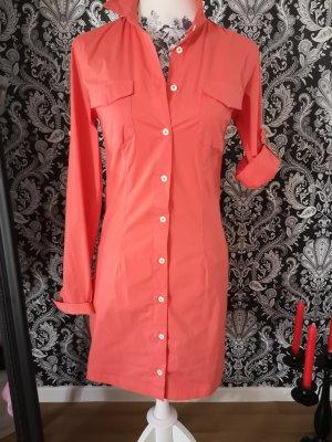 Hemdkleid in Lachsfarbe