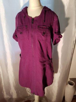 Cecil Shirtwaist dress purple