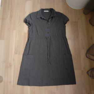 Hemdkleid Kleid Sommerkleid More&More Gr. 36 grau Blusenkleid