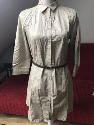 Hemdkleid mit Gürtel und Taschen