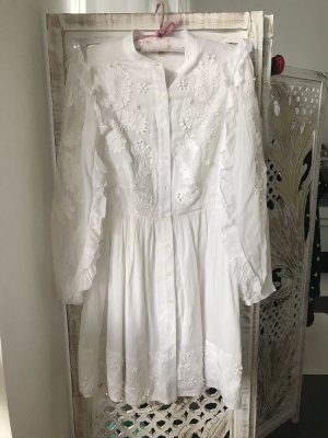 Michael Kors Shirtwaist dress white cotton