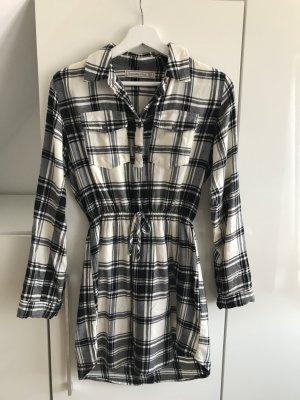 Abercrombie & Fitch Robe chemise blanc-noir