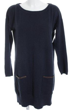 Hemisphere Sweater Dress dark blue-brown casual look