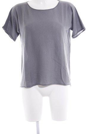 Hemisphere Camisa tejida gris look casual