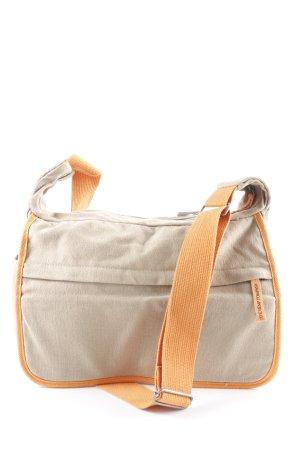 Hemp Age Canvas Bag oatmeal-orange casual look