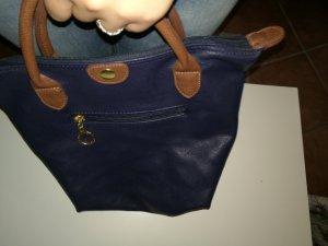henkel,-Handtasche blau