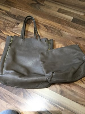 Carry Bag taupe synthetic material