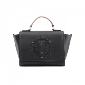 Versace Carry Bag black-rose-gold-coloured imitation leather